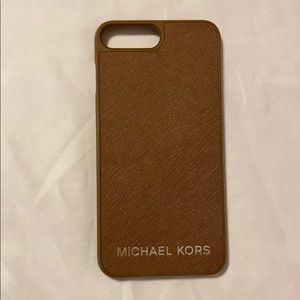 Michael Kors Iphone 7/8 Plus Leather Phone Case
